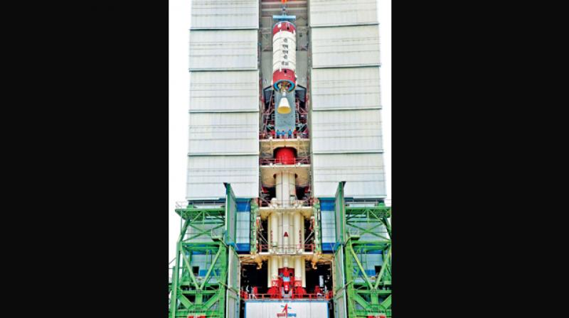 Countdown for launch of PSLV-C38 begins