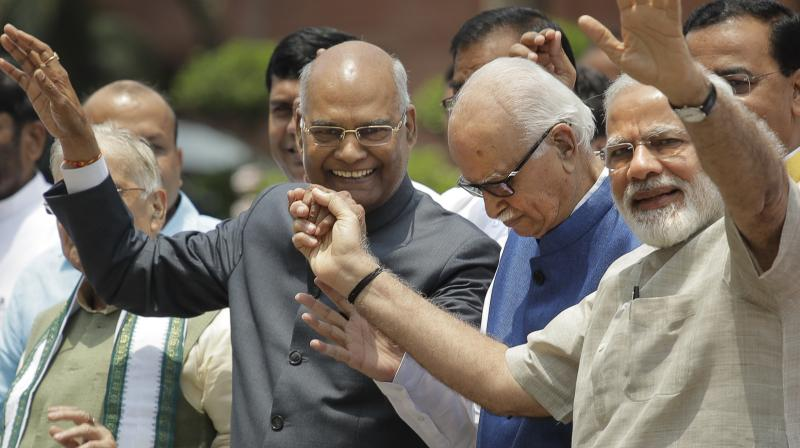 NDA Nominee Ram Nath Kovind To File Nomination Today