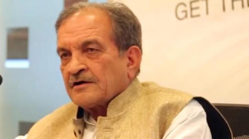 Steel Minister Chaudhary Birender Singh.