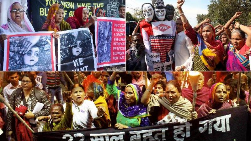 Bhopal is observing 32nd anniversary of gas leak tragedy on Saturday as 20,000 people died and scores of people were maimed for life after the Methyl Isocyanate gas was leaked from the pesticide plant of Union Carbide on the intervening night of Dec 2 and 3 in 1984. (Photos: PTI)