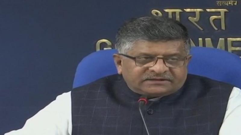 Union Minister Ravi Shankar Prasad said 'If any consumer feels that the benefit of tax rate cut is not being passed on then he can complaint to the National Anti Profiteering Authority.'
