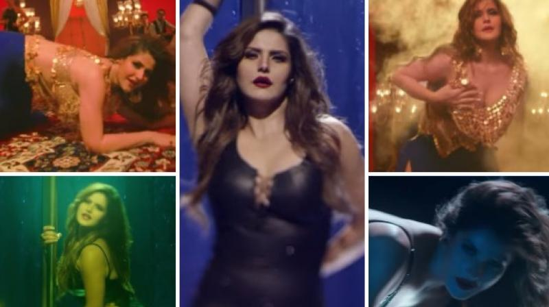 Zareen Khan Sizzles In 'Maahi Ve' Song From Wajah Tum Ho