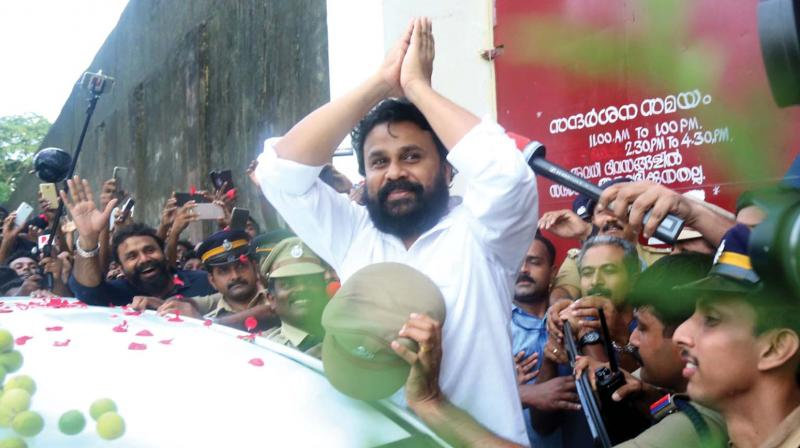 Kerala High Court grants bail to superstar Dileep
