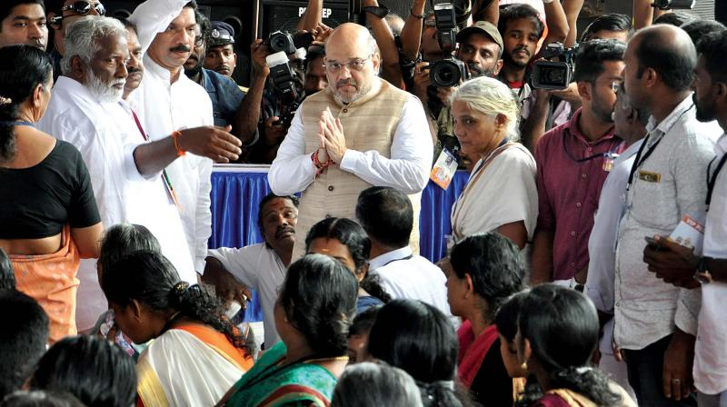 Anti-saffron violence spurs Amit Shah to launch yatra in Kerala