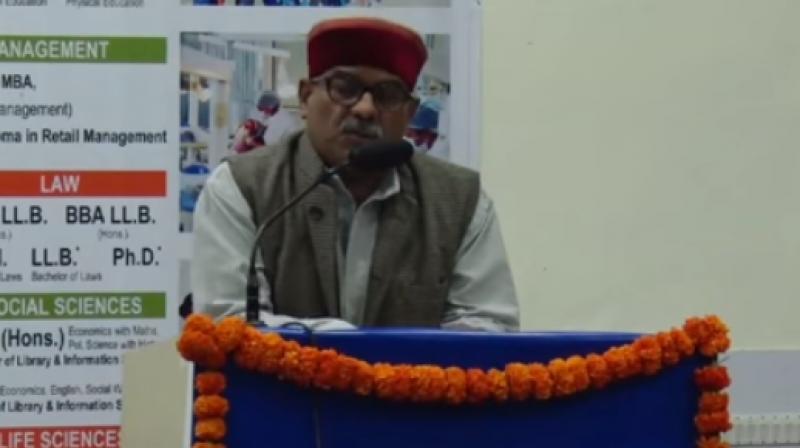 RSS leader Krishna Gopal. (Photo: Youtube/Screengrab)