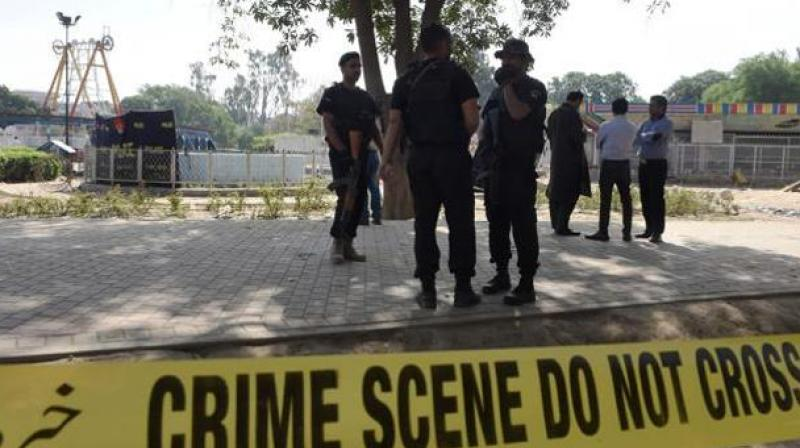 Gunmen attack police training center in southwest Pakistan