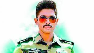 Allu Arjun is an Army man again