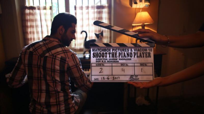 Ayushmann Khurrana starts shooting for 'Shoot The Piano Player'