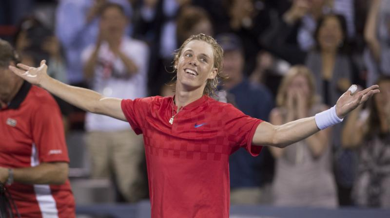 Image result for Canadian teenager Denis Shapovalov beat Rafael Nadal