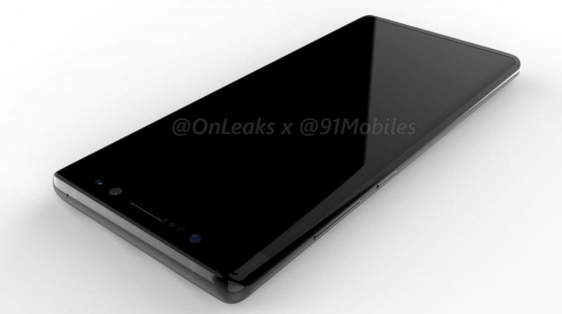 Another feature we noticed is the large bump on the back which houses not only the lens, but the fingerprint sensor and the flash.