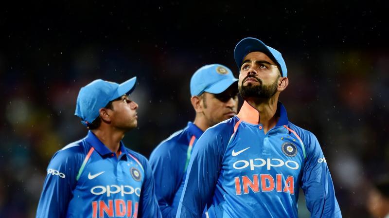 Virat Kohli falls for the sixth time in nervous nineties