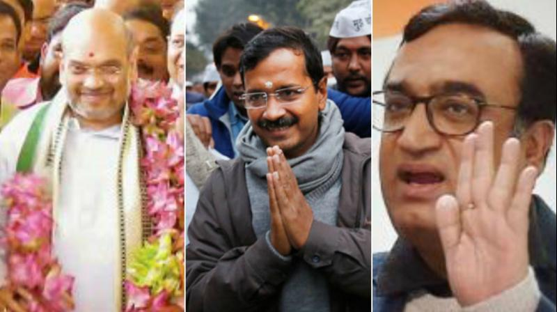 AAP loses ground in Delhi, tough times ahead