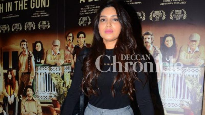 This is only Bhumi's second feature film.