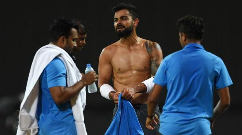 Realising what's hampering him to reach his full potential, Virat Kohli began his transformation journey, and he needs no introduction today. (Photo: AFP)