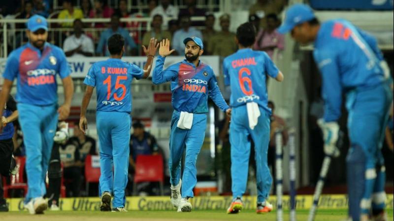 Virat Kohli's men ran out comfortable winners in the end. (Photo: BCCI)