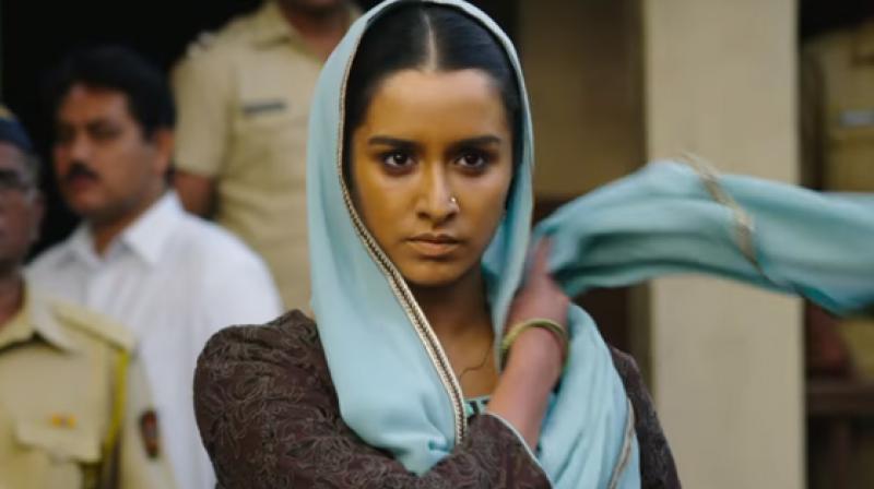 Shraddha Kapoor in a still from 'Haseena Parkar.'