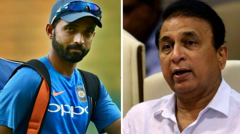 Ajinkya Rahane's omission is not understandable, says Sunil Gavaskar
