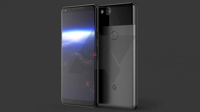 It is also known that at least the HTC-made Pixel 2 will carry forward the Edge Sense from their 2017 flagship U11 and will run on Android 8.0.1, which hasn't been announced by Google yet. (Image: Android Police)