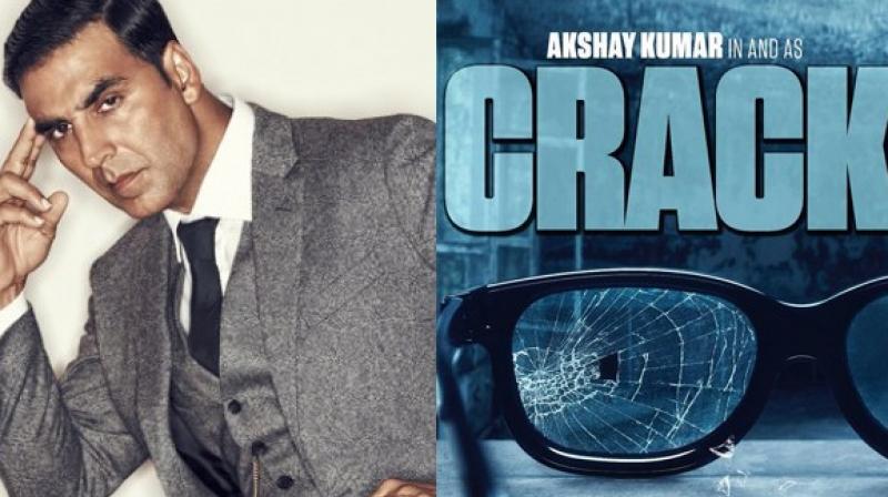 Akshay Kumar Crack Directed by Neeraj Pandey