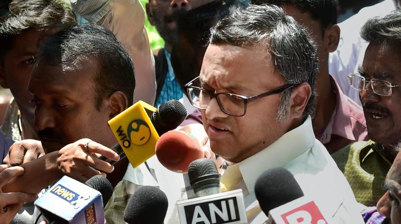 Karti Chidambaram (Photo: PTI)