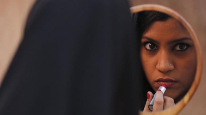 Check out the rebellious new poster of 'Lipstick Under My Burkha'