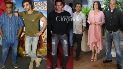 With their films 'Tubelight', 'Jagga Jasoos' and 'Mom' gearing up for release, the lead actors were seen during the promotions and screening on Tuesday. (Photo: Viral Bhayani)