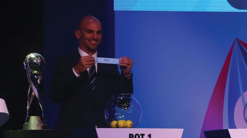 India faces tough draw at Federation Internationale de Football Association  U-17