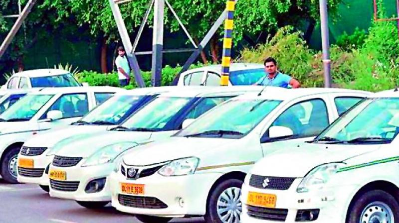 Taxi operators charge pilgrims according to their whim and fancies. (Photo: DC)