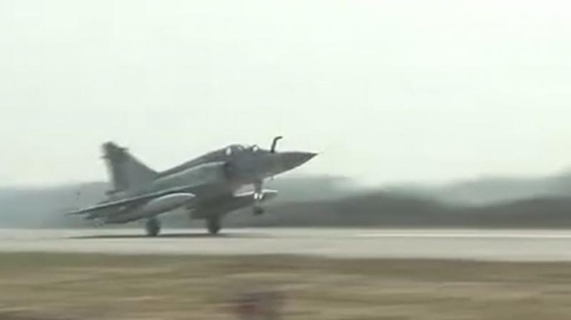 Watch: IAF jets land on Lucknow-Agra Expressway in touch and go drill