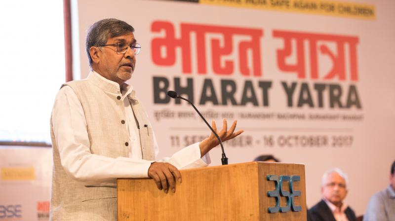 If children are not safe, India isn't either: Nobel laureate Kailash Satyarthi