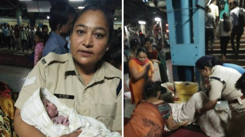 Woman gave birth to boy at Thane railway station
