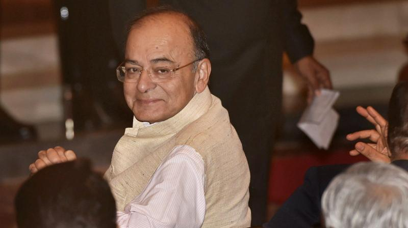 Defence Minister Arun Jaitley said the country faced two serious threats – one in Jammu & Kashmir and second being problem of Left-Wing Extremism in central India. (Photo: PTI)