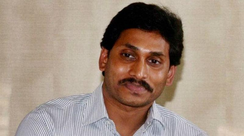 YSRC chief Y.S. Jagan Mohan Reddy