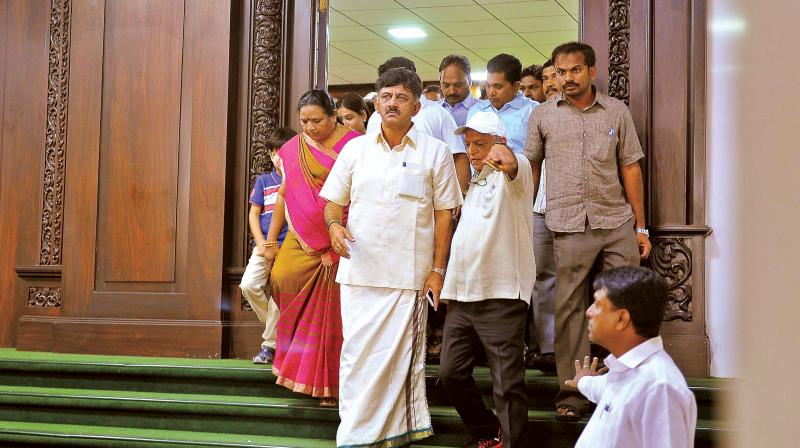 More IT raids underway at locations connected with K'taka Min. Shivakumar