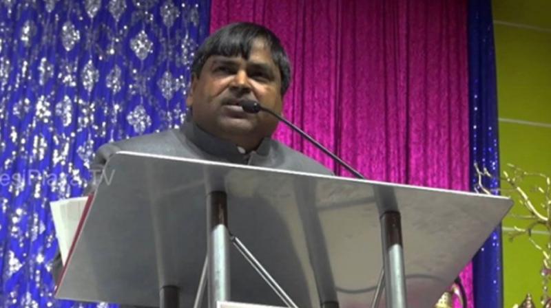 Uttar Pradesh Transport Minister of Uttar Pradesh Gayatri Prasad Prajapathi (Photo: PTI)