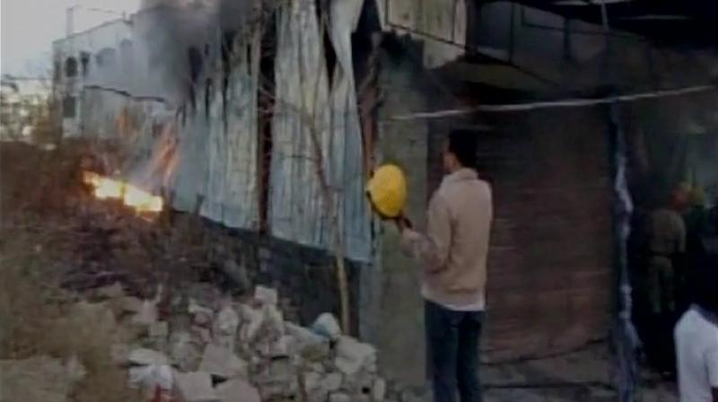 Hyderabad: Six burnt to death in godown inferno