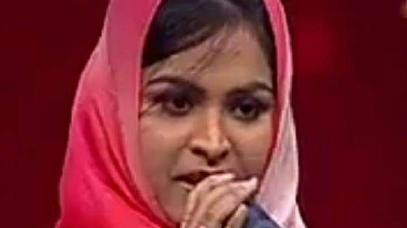 'Muslim' girl trolled for singing 'Hindu' devotional song in singing reality show
