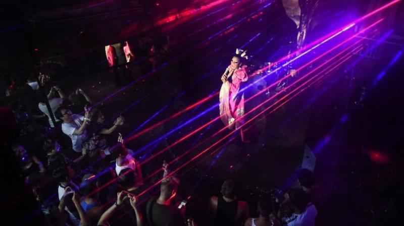 While LGBTQ Thais often still face discrimination in the workplace, the kingdom's gay party scene is famously loud and proud (Photo: AFP)