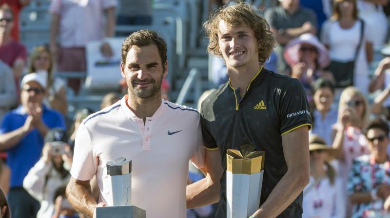Alexander Zverev stuns Roger Federer to win Montreal Masters