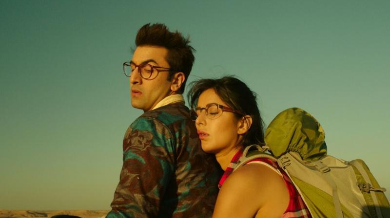 Ranbir Kapoor, Katrina Kaif, Sayani Gupta