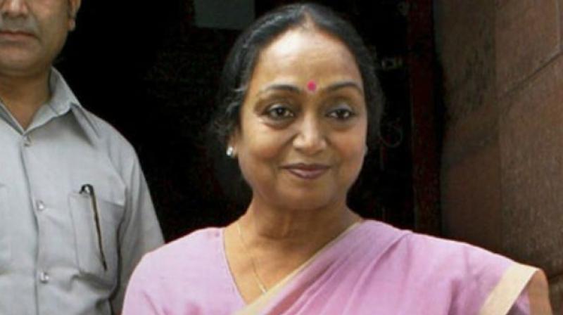 Former Lok Sabha speaker Meira Kumar (Photo: File)
