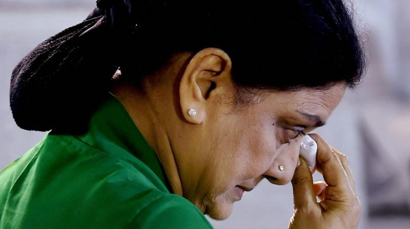 AIADMK General Secretary V K Sasikala (Photo: PTI)
