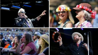 The Monterey International Pop Festival in Monterey, Calif that turned 50 celebrated by kicking off a three-day concert (Photo:AP)