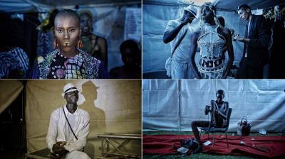 Moments from the Dakar Fashion Week (Photo: AP)