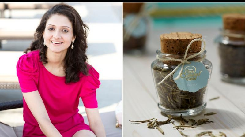 Rupali Ambegaonkar of Tea Culture of the World and an exotic blend from the brand