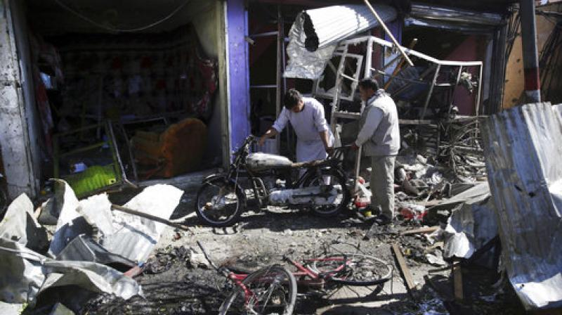 At least 35 people have been killed and 42 wounded after a Taliban car bomb struck a bus carrying government employees in western Kabul on Monday, officials said, the latest attack to strike the Afghan capital.