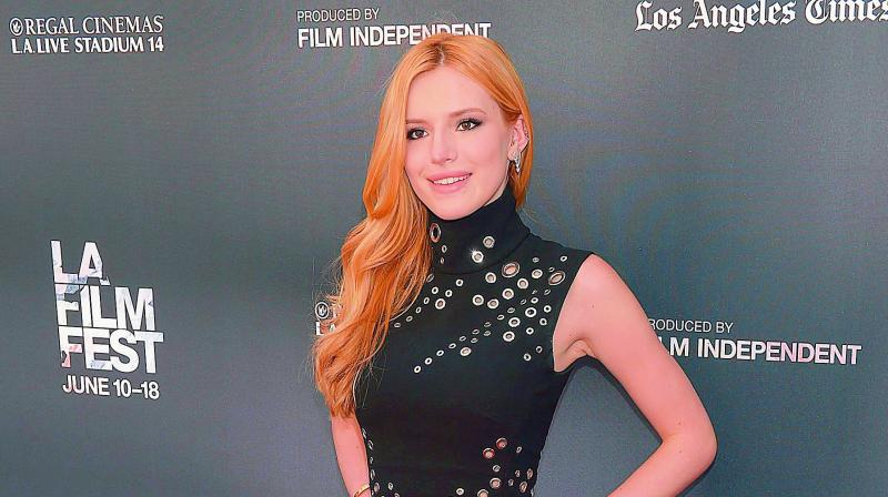 Bella Thorne says explicit video is fake
