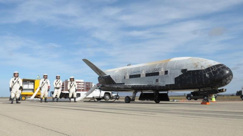 SpaceX Prepares to Launch Air Force's Secretive X-37B Space Plane