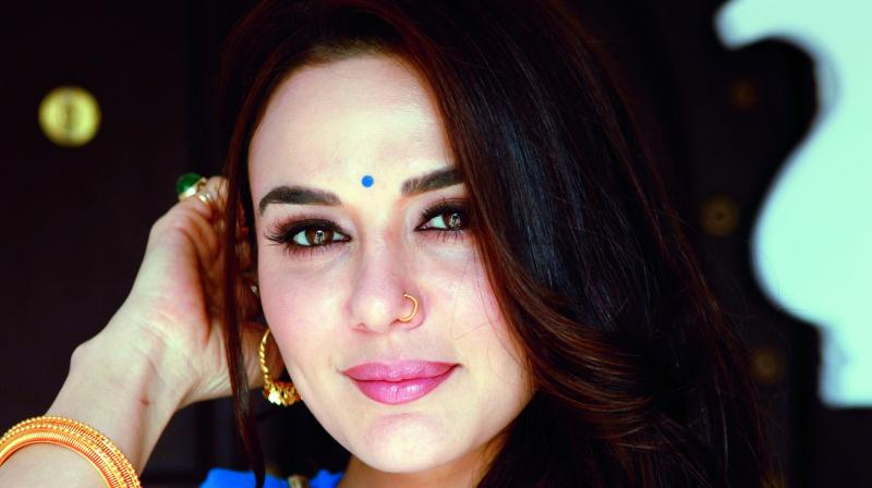 "Preity Zinta, who is often said to be a ""bubbly"" and ""cute"" actress, will be seen donning a completely different avatar in her next movie titled Bhaiyyaji Superhitt."