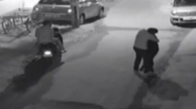 Bengaluru shames again - CCTV captures woman being molested and groped